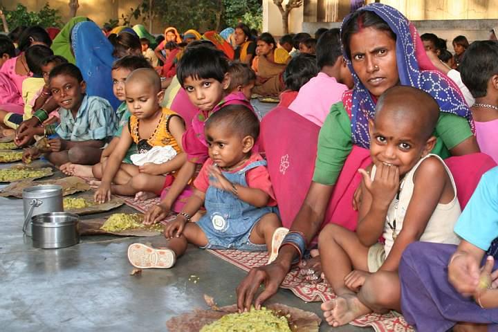 distribuzione di cibo